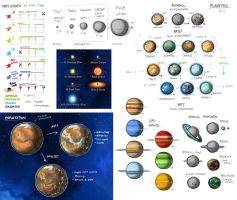 Stars in Shadow: Star and Planet Types by AriochIV