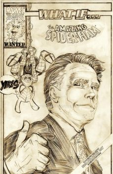 MARVEL WHAT IF?!? MITT ROMNEY  WON THE ELECTION by ARTOFSAPO