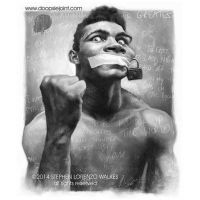 Muhammad Ali by Stephen Lorenzo Walkes by lorenzowalkes