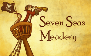 Seven Seas Meadery label by feathergills
