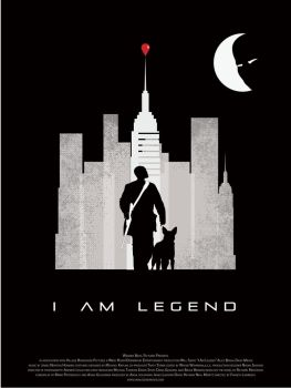 I Am Legend Movie Poster by iascend