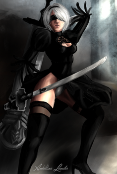 Request: 2B by AmbellinaLeander