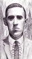Lovecraft sketch by dashinvaine