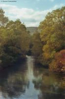 """Sangro river """"film print scan"""" by GiovanniSantostefano"""