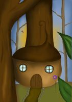 Fairy House by xLifeIsArt