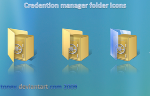 credention manager folders by tonev