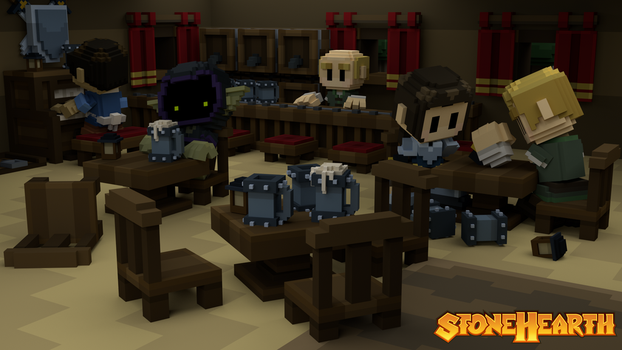 Stonehearth Tavern by PandemicTyler