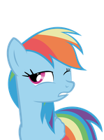 Vector Rainbow Dash (new version) by NitaShinori