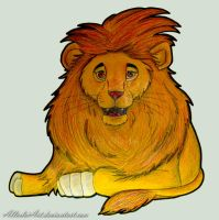 Lion for Ata by AllerleiArt