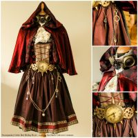Steampunked Little Red Riding Hood by NairaDenavarre