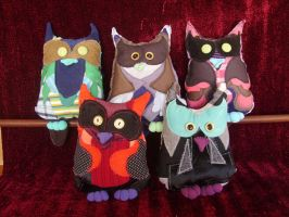 new owls by NataliaVulpes
