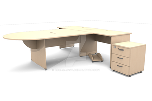 desk by RedAgainst