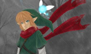 :Doodle: Link by PrinceOfRedroses