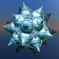 big blue snowflake by Andrea1981G