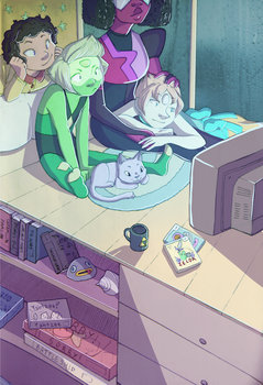 peridot and chill by robotanlst