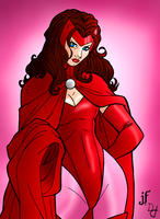 The Scarlet Witch by portfan