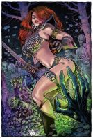 Red Sonja by Arthur Adams Colors by GiuliaPriori