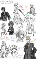 Sketchdump-'holyshit summer's almost over' Edition by Pigeonheart
