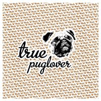 i love pugs by sounddecor