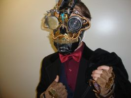 The Classy Mask of Death by TheWolverineCello