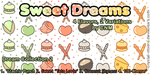 Sweet Dreams Pattern Collection 2 by CNM by Crystal-Moore
