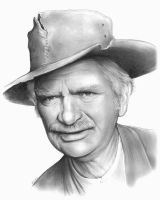 Buddy Ebsen as Jed Clampett by gregchapin
