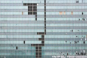 Upset geometries - buildings by Gianlooka