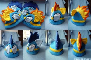 Wonderbolt's Hats by facja