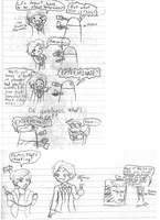 Doctor Who: random doodles by androidgirl