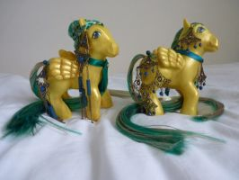 custom mlp lord and lady of atlantis 3 by thebluemaiden