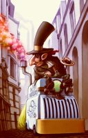 Dr Fazio's Marvelous EcoWagon by RYE-BREAD