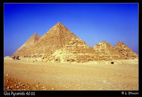 Giza Pyramids rld 02 by richardldixon