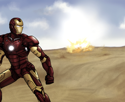 Iron Man by littleshade