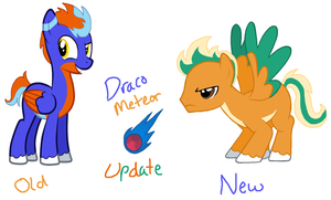 Draco Meteor's New Look by zafara1222