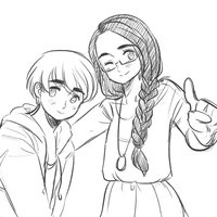 Tami and Connor by L-ucille