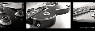 Gibson LesPaul Collage by DsCooperPhotography