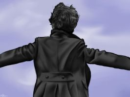 Sherlock.The Reichenbach Fall. by harperL