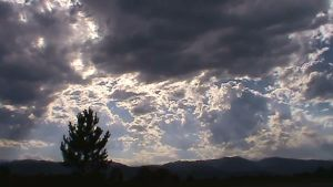 Clouds over the Rockies by Noben