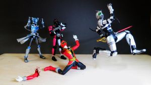 Kamen Rider Dark Decade vs Captain Marvelous 15 by Digger318