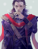 SS: Loki for Athena-chan by reddii