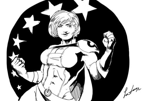 Power Girl by Latoonist