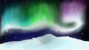 northern lights WIP ver 2 by Olly3
