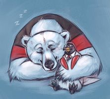 Polar pals by Kethavel