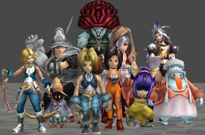 xnalara final fantasy 9 models by twinlightownz
