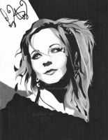 Lindsey Stirling (signed) by Meghan-Vu