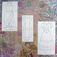 Flat Dictionary- Dresses 3 by Isilian