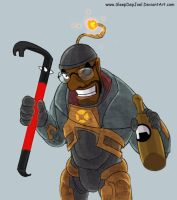 TF2_HL: Demo Freeman by SleepDepJoel