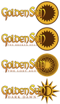 Simplified Golden Sun Titles by NoNamePaper