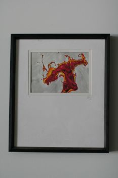 Human Torch - Framed by robotsLOVEdeathrays