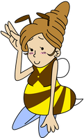 PL: Puzzlette Bee by Chipgirl9